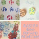 Easter Egg Potato Printing