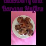 Blackberry and Banana Muffins