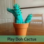 Play Doh Cactus