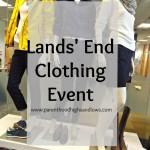 Lands' End Clothing Event