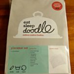 Eat Sleep Doodle Washable Place Mat | Review