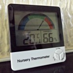 Nursery Thermometer Review and Giveaway