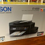 Epson EcoTank ET-4500 Printer Review