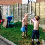 The First Water Fight #MySundayPhoto