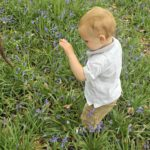 Playing in the Bluebells #MySundayPhoto