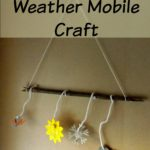 Weather Mobile Craft #BostikBlogger
