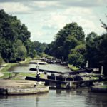 A walk along the locks