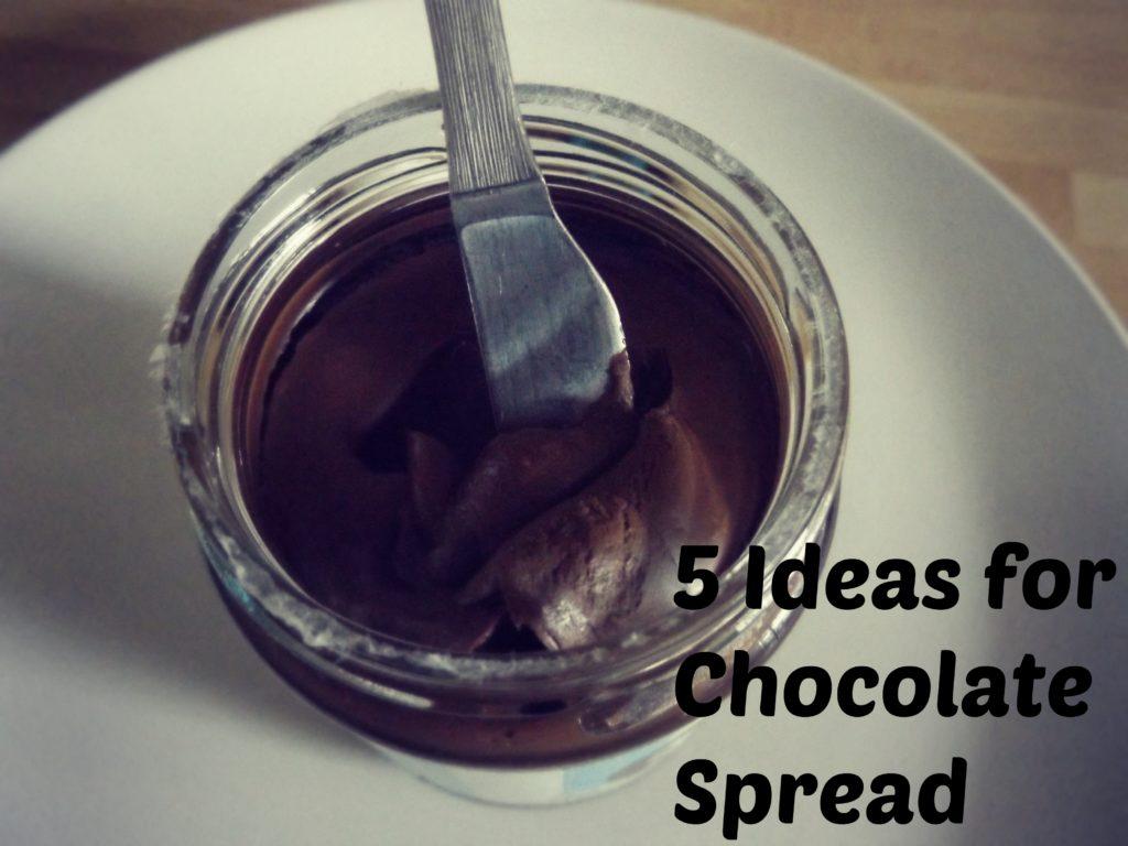 5 Ideas for Chocolate Spread | www.coffeecakekids.com