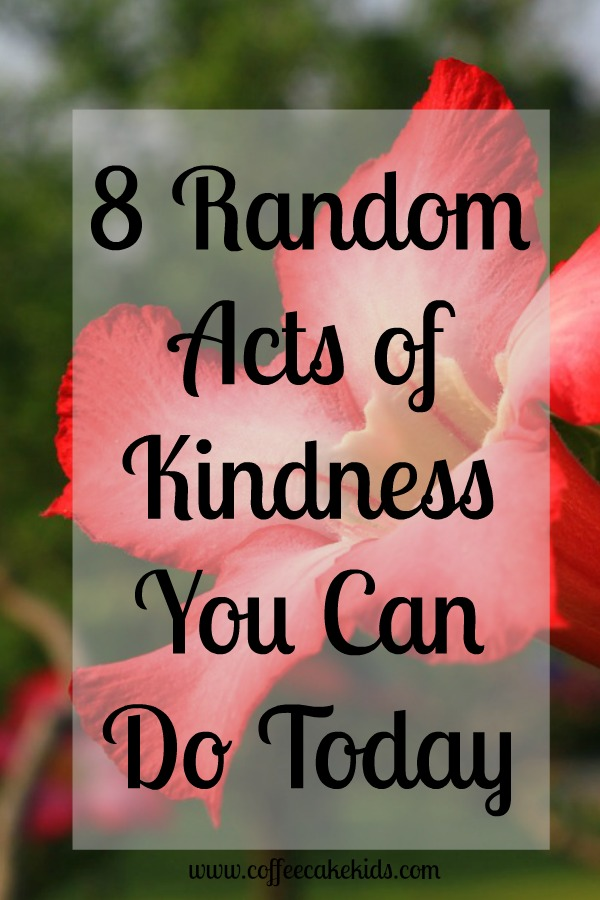 8 Random Acts of Kindness You Can Do Today