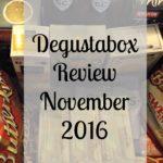 Degustabox November 2016 | Review