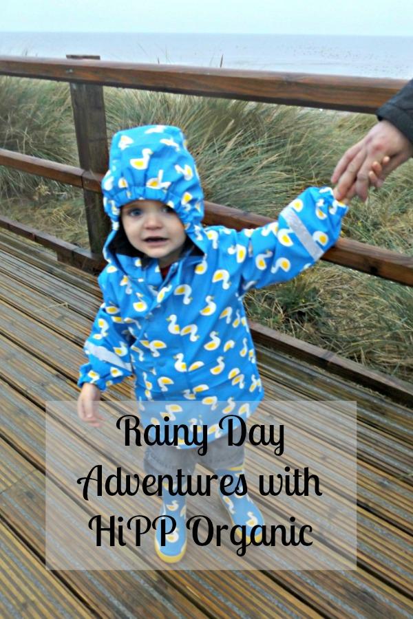 Rainy day adventures with HiPP Organic