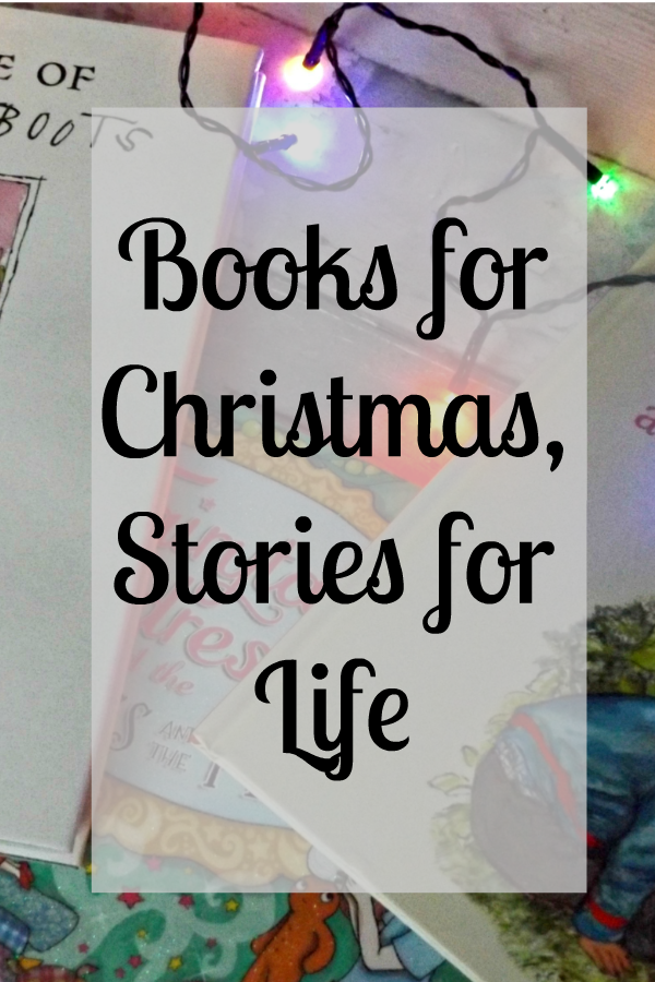 Books aren't just for Christmas, they are for life.