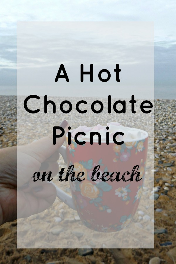 A Hot Chocolate picnic on the beach