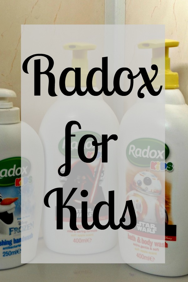 Radox Kids Range - available in Star Wars and Frozen designs. Shampoo, handwash & body wash