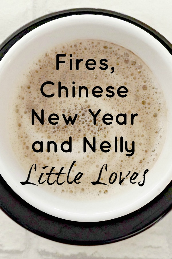 Fires, Chinese New Year and Nelly Little Loves