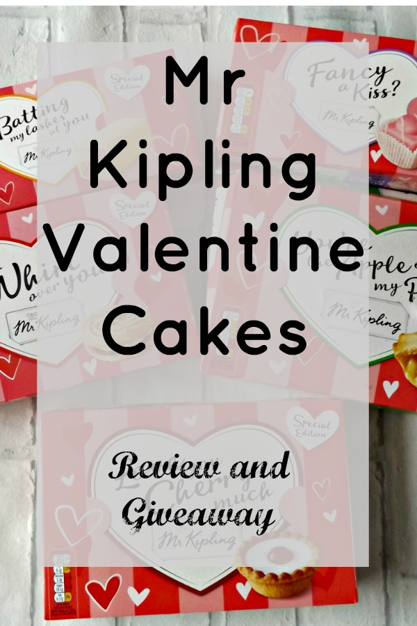 Mr Kipling Valentine Cakes Review and Giveaway