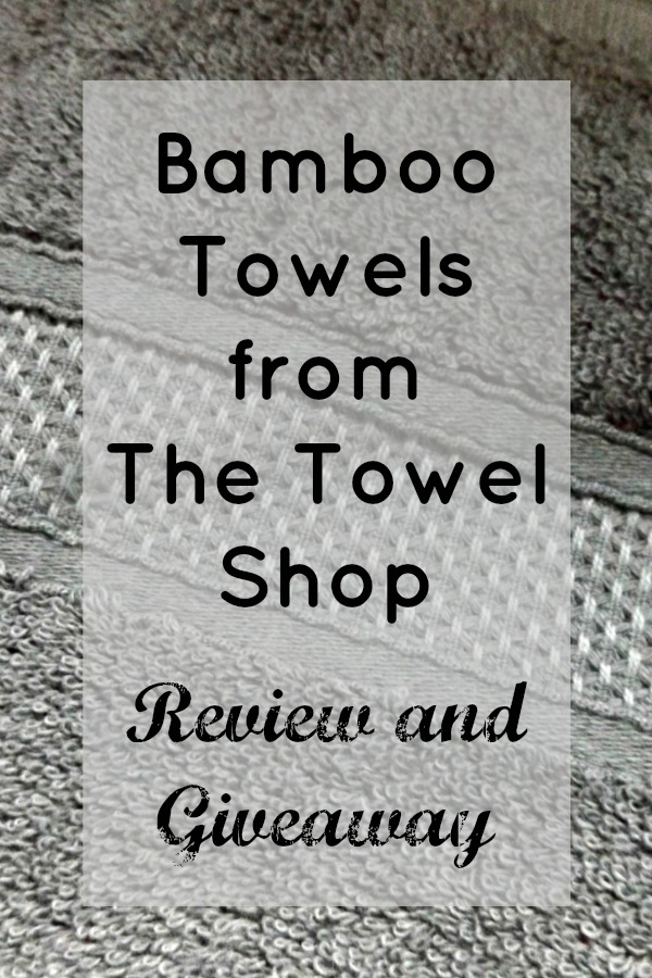 Bamboo Towels from The Towel Shop Review and Giveaway