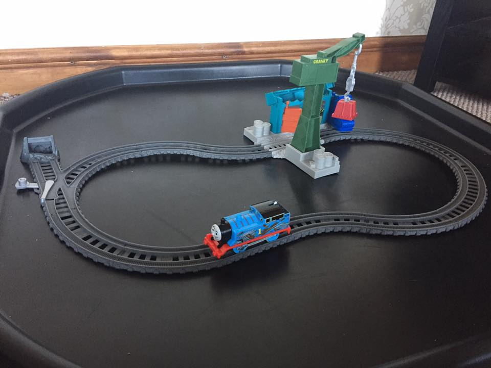 Thomas & Friends Track Master Demolition at the Dockyard