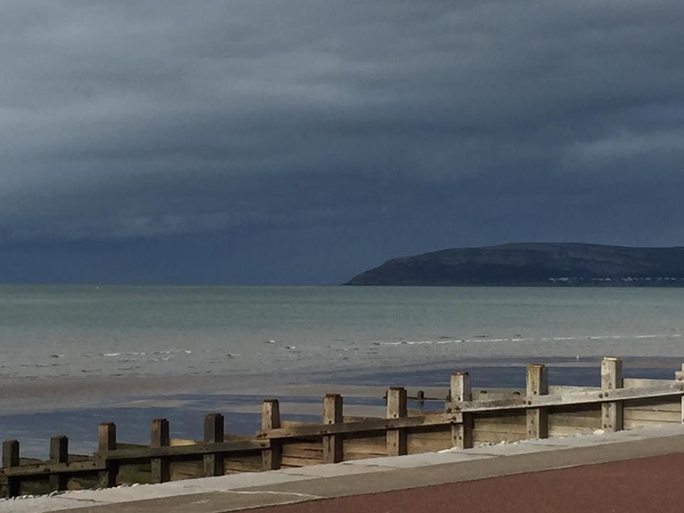 Penmaenmawr Beach, North Wales