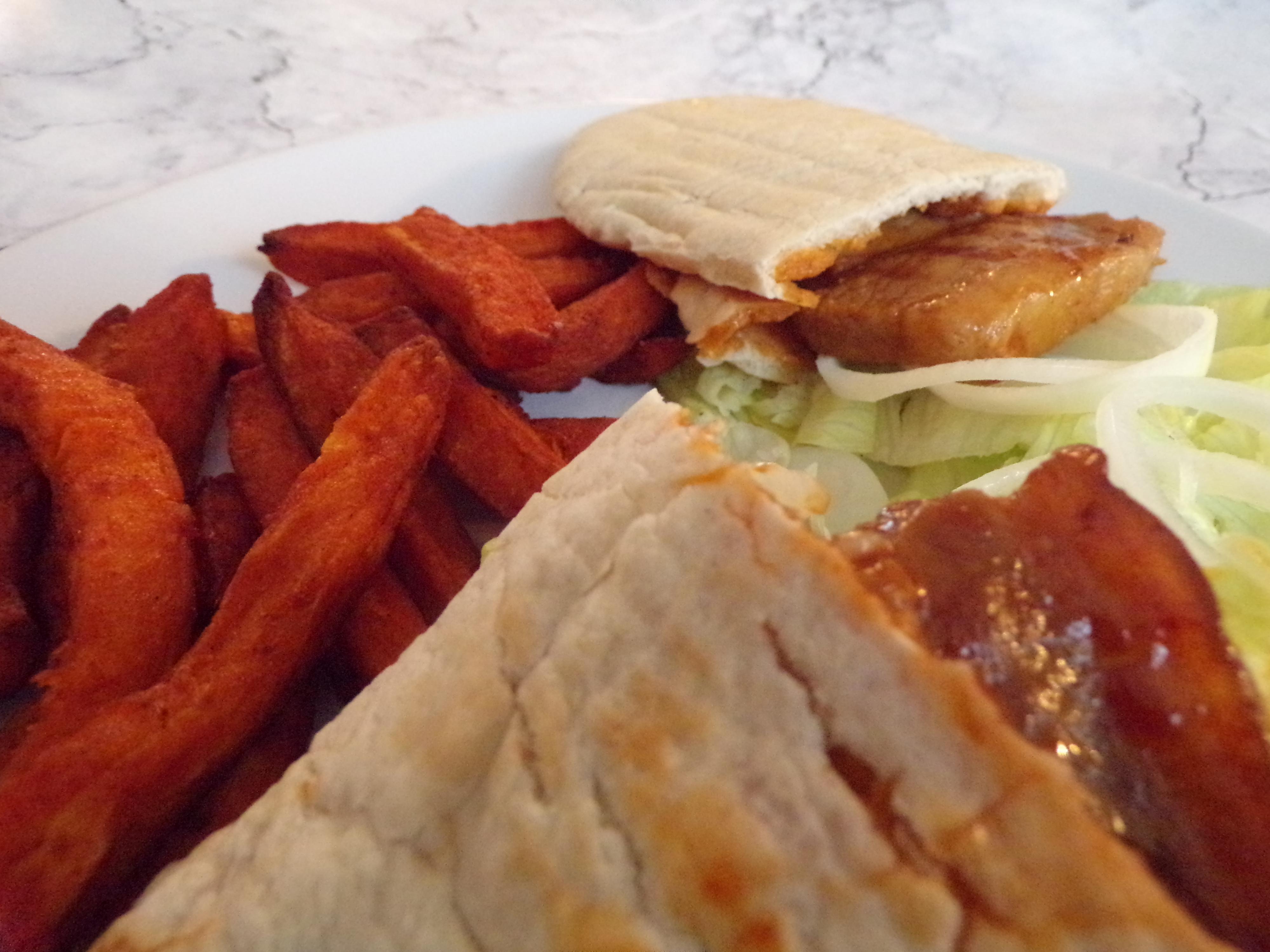 Pork Pitta Pockets #HealthyRedMeat