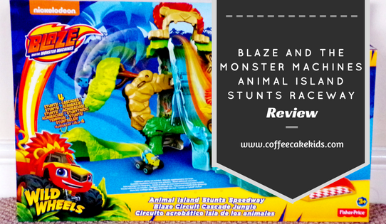 Blaze & the Monster Machines Animal Island Stunts Railway
