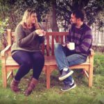Enjoying Autumn with Sloane and Son's Wooden Garden Bench | Review