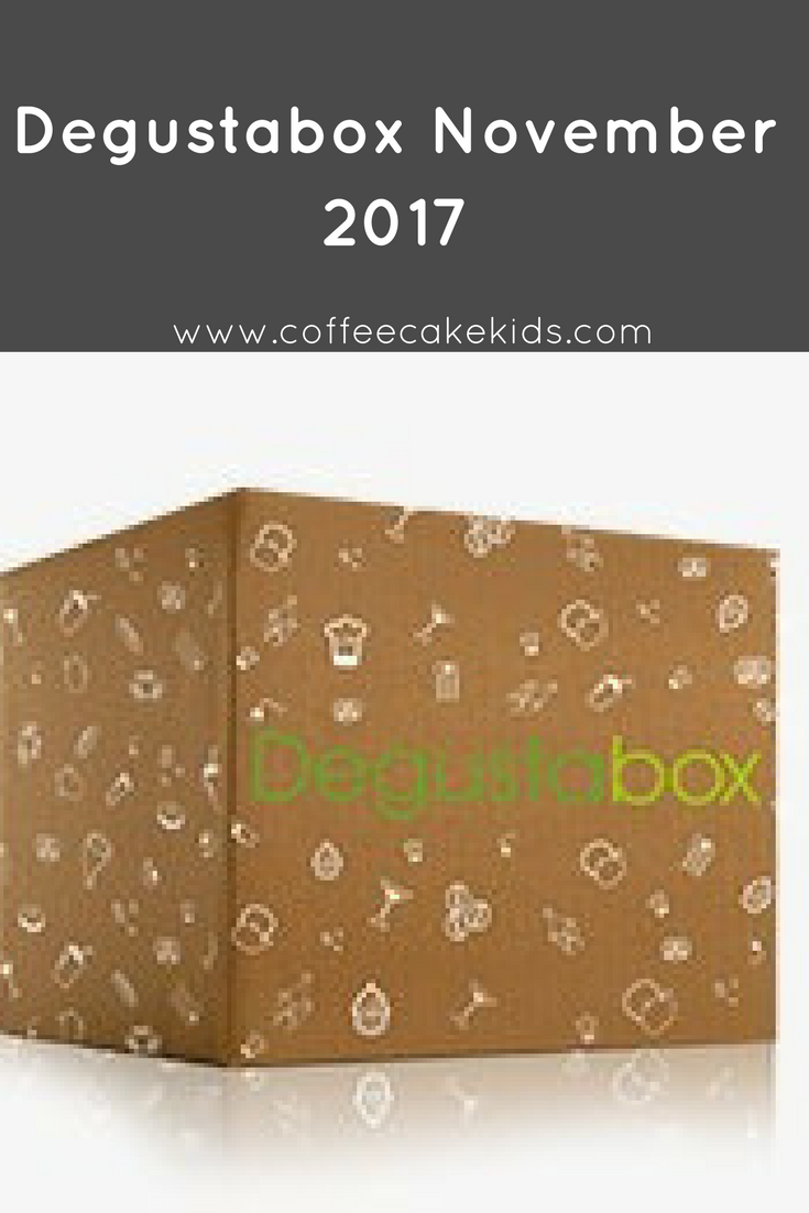 Degustabox November 2017 + Unboxing Video