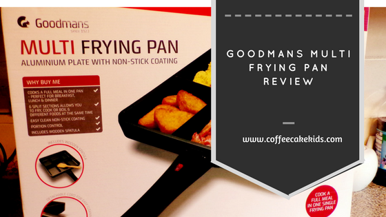 Goodmans mutli frying pan review