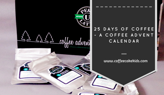 Coffee Advent Calendar from perk U Latte