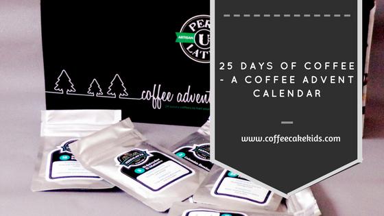Coffee Advent Calendar from perk U Latte