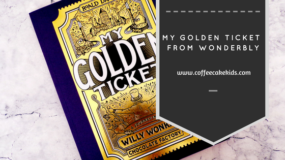 My Golden Ticket from Wonderbly