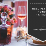 Meal Planning Monday 13/11/2017