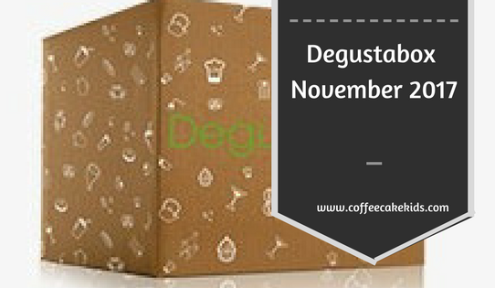 Degustabox November 2017 Review