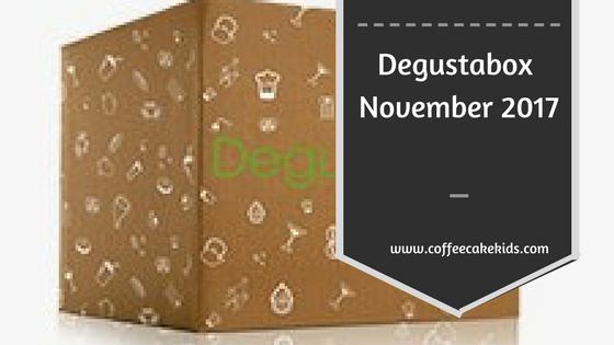 Degustabox November 2017 Review