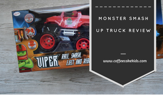 Monster Smas Up Truck Review