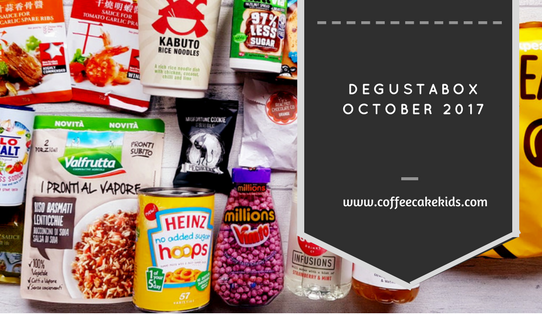 Degustabox October 2017
