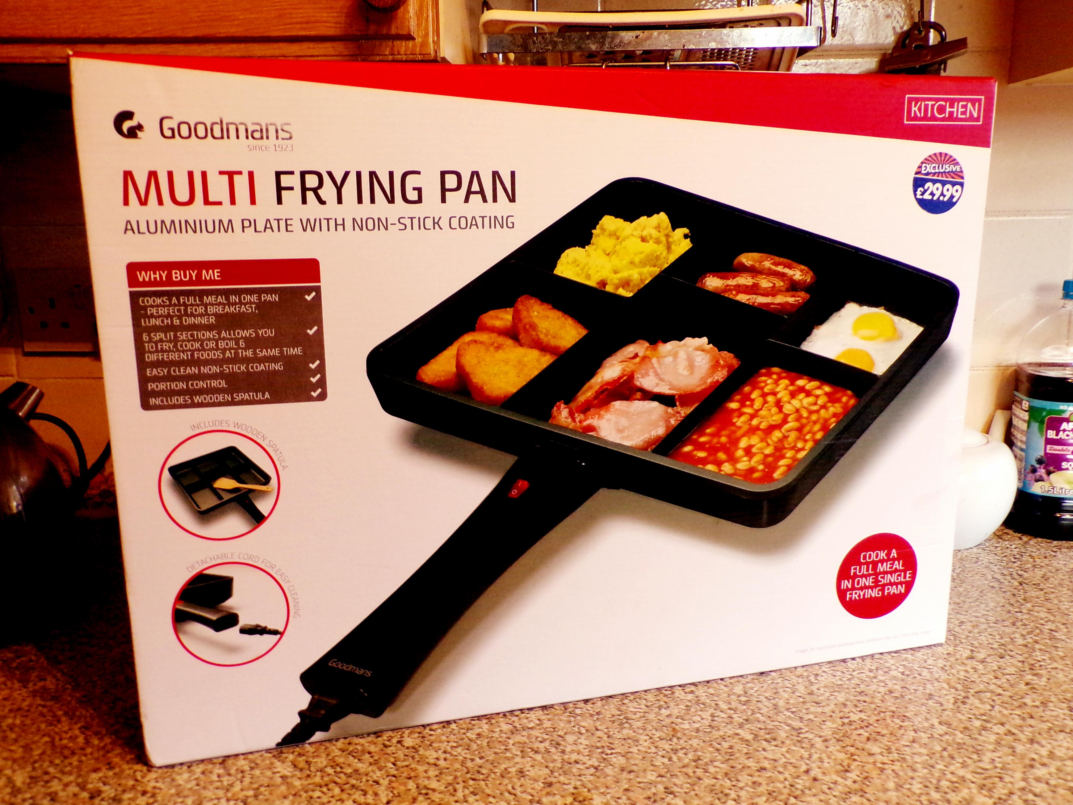 Goodmans Multi Frying Pan