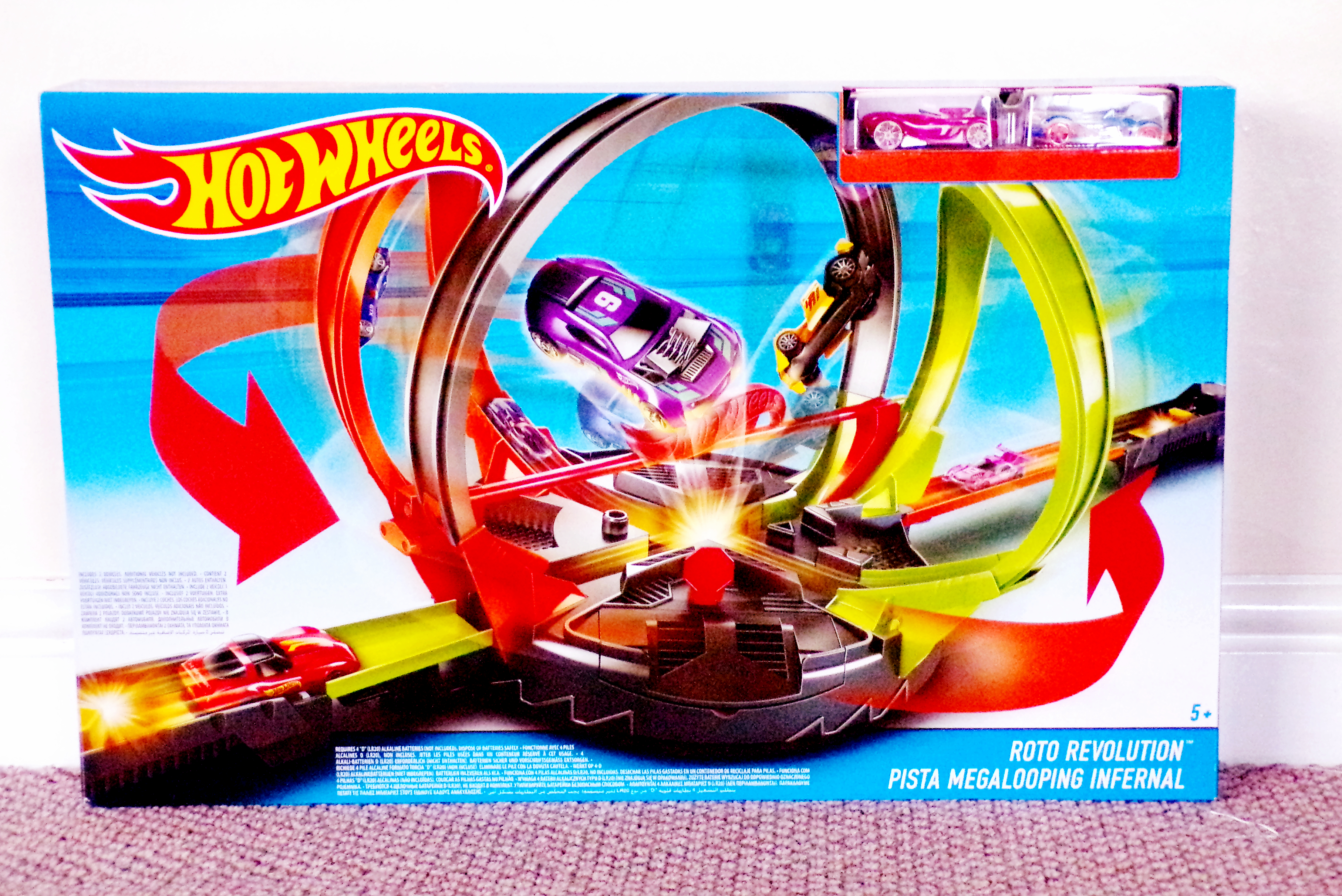 Hot Wheels Roto Revolution Track