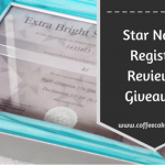 Wish Upon a Star | Star Name Registry Review and Giveaway