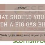 What Should You Do With A Big Gas Bill?