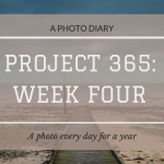 Project 365: Week Four
