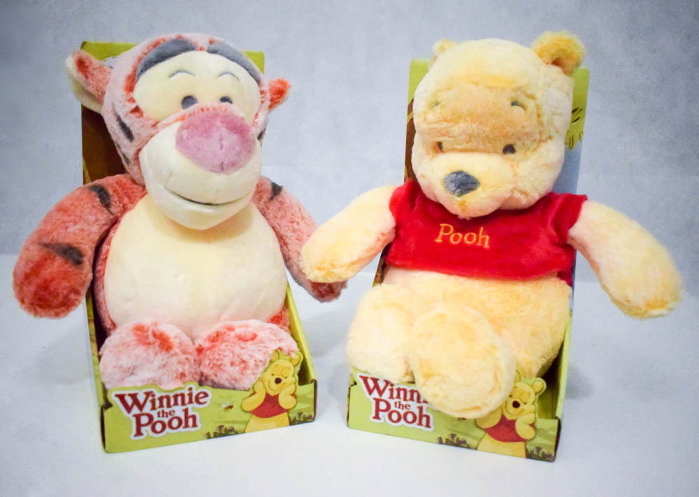 Plush WInnie the Pooh and Tigger Soft Toys