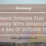 Celebrate Outdoor Play This Summer with Germolene | WIN A BAG OF OUTDOOR TOYS!!