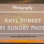 Sunset in Rhyl