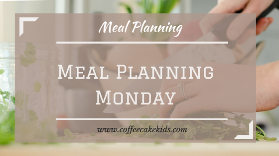Meal Planning Monday title