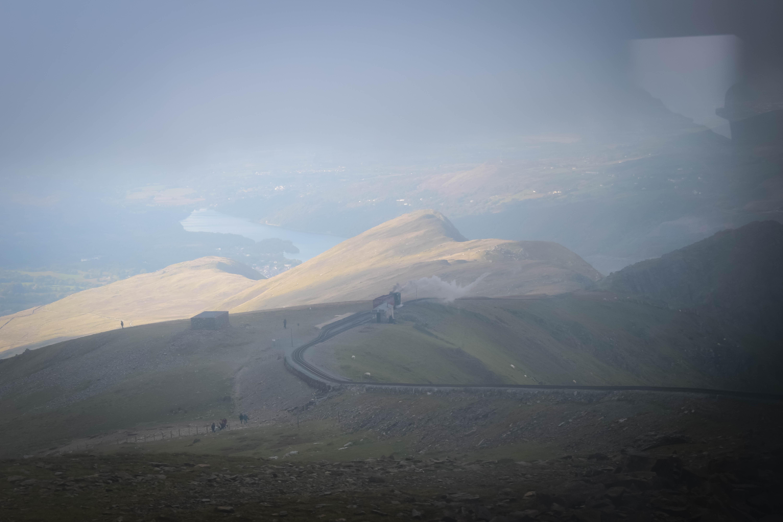 Views from Snowdon Mountain Railway