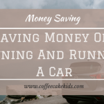 Saving Money On Owning And Running A Car
