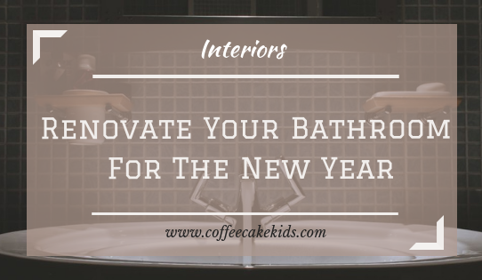 renovate your bathroom for the new year