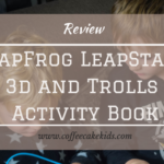 LeapFrog LeapStart 3d and Trolls Activity Book