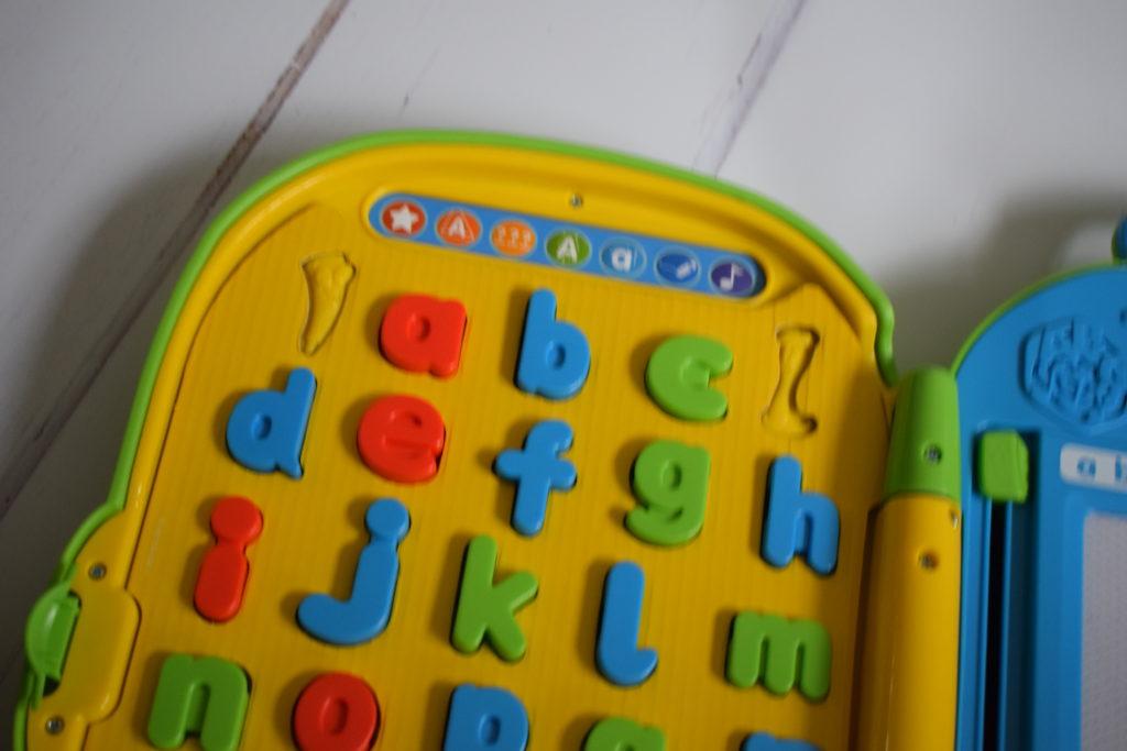LeapFrog Mr Pencil's Alphabet Backpack